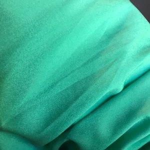 vestique Dresses - Vestique Maxi Seafoam Green Strapless Dress